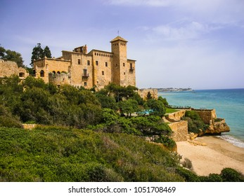 Image of Ancient Tamarit castle in Tamarit, Catalunya in Spain