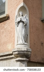 An image of an angel in Ulm Germany