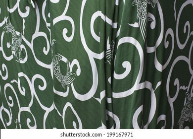 An Image of Arabesque Pattern
