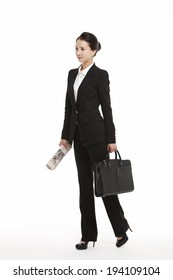 the image of Asian business woman