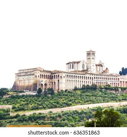 An image of Assisi in Italy Umbira background