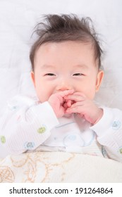 The image of baby in Korea, Asia