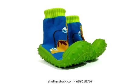 Image of baby walking shoe