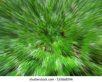 Image with background like a green explosion