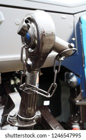 The image of the ball joint. Tractor hitch