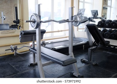 The image of barbells