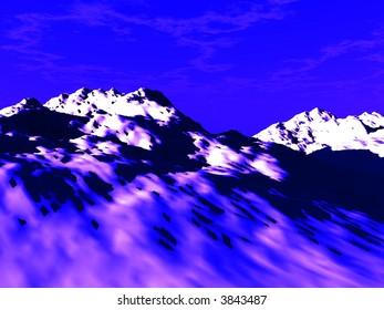 A image of a basic rock landscape.
