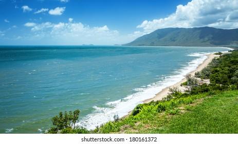 An image of a beautiful beach in Queensland Australia