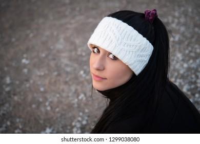 Image of a beautiful hispanic teen girl