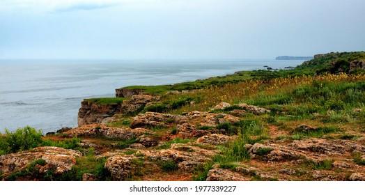 An Image of Beautiful Panoramic Landscape in Yaylata, Kamen Bryag, National Reserve in Bulgaria. - Shutterstock ID 1977339227