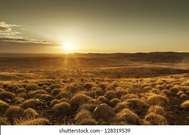 An image of a beautiful sunset in Australia