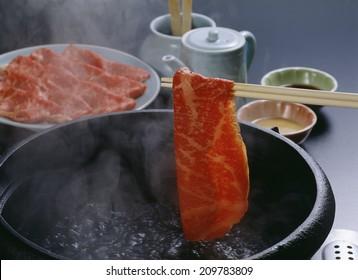 An Image of Beef Shabu-Shabu