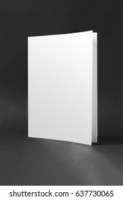 An image of a blank book cover mockup
