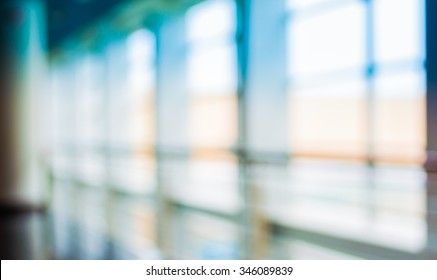image of blur window with bokeh for background usage.