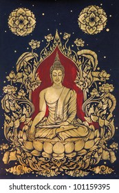 Image of buddha drawing