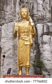Image of Buddha statue pilgrimage at Patalung in south of Thailand