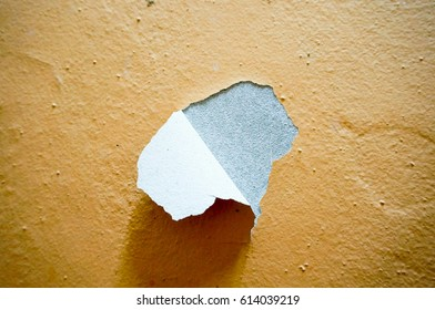 Image of building or wall defect  - peeling paint