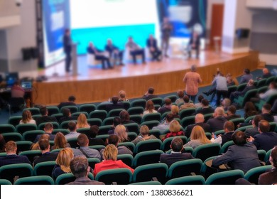 The image of business conference