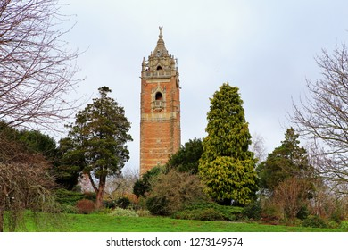 Image of Cabot Tower, situated in a public park on Brandon Hill,Bristol.Inside is a spiral staircase for those who wish to climb to the top for splendid views across Bristol.