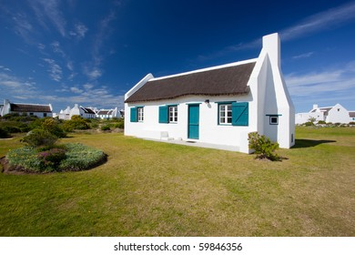 Image of a Cape house in the Western Cape in South Africa