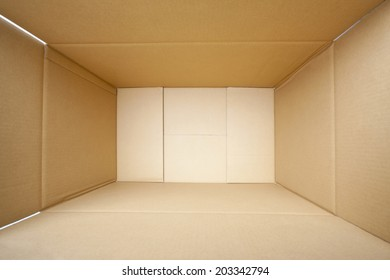 An Image of Cardboard Box