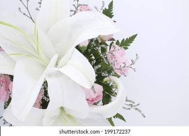 An Image of Carnation And Casablanca