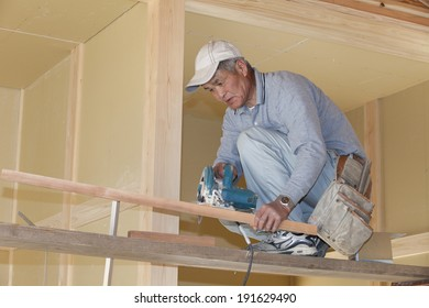 An image of Carpenter working