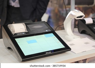 The image of a cash register