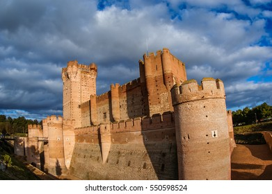 Image of Castle de Mota in Medina del Campo, Valladolid, Spain