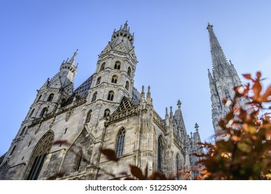 Image of cathedral Stephansdom in Vienna Austria