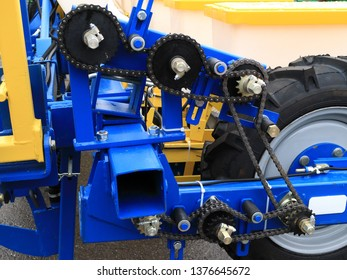 An image of a chain transfer. Row drill
