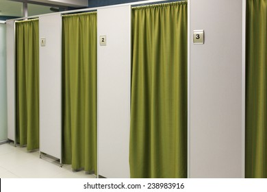 The image of  changing rooms