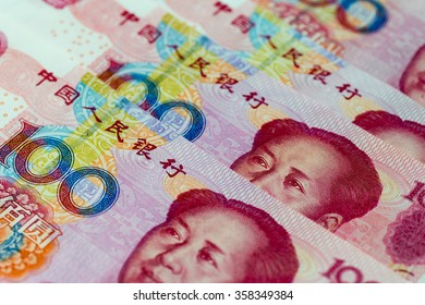 Image of Chinese economy, with Chinese yuan currency