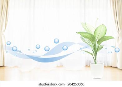 清潔な空気のイメージ