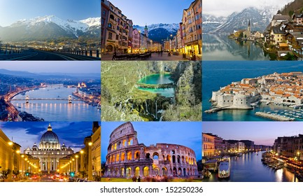 image collections of Europe