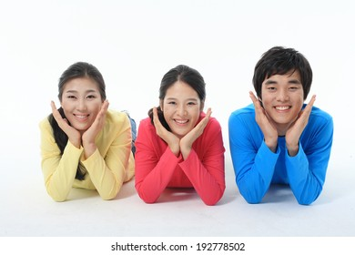 The image of college students in Korea, Asia