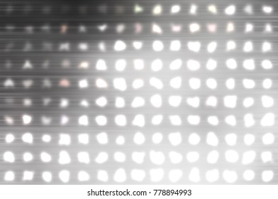 Image of defocused stadium lights.  Abstract grey background. illustration digital.