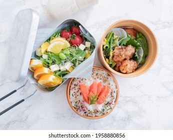 Image of delicious Japanese bento
