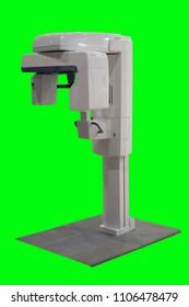 Image of a dental tomograph.
