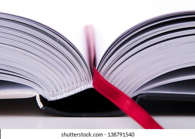 An image of detail opened book