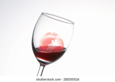 An Image of Earth And Wine