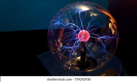 Image of Electric plasma sphere, Lampang, Thailand.
