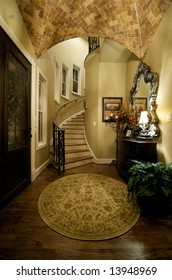 An image of an elegant home foyer