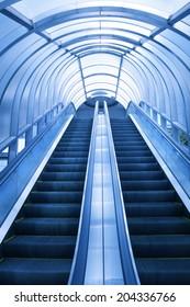 An Image of Escalator