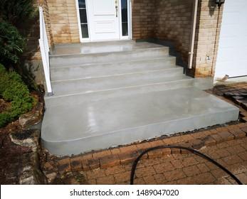 Painted Concrete Steps Images, Stock Photos & Vectors