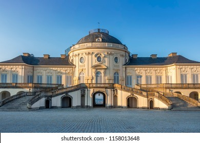 An image of the famous castle Solitude at Stuttgart Germany