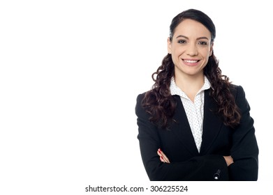 Image of a female entrepreneur with arms crossed