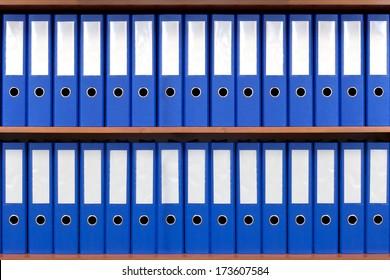 The image of file folders.