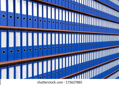 The image of file folders.