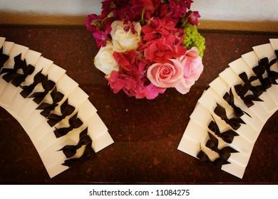 an image of formal wedding programs